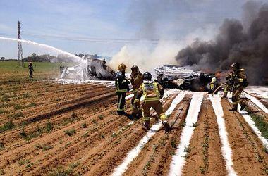 Упавший в Севилье самолет предназначался ВВС Турции