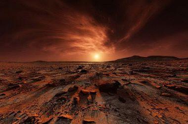 Curiosity снял закат на Марсе