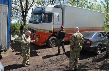 Москаль не пустил на подконтрольную боевикам территорию две фуры с пивом