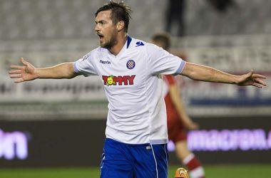 Артем Милевский получил травму в матче чемпионата Хорватии