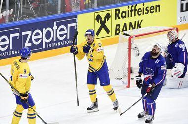 Сборная Швеции добыла волевую победу над Францией