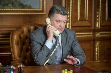 Порошенко обсудил с генсеком ООН возможность размещения миротворцев на Донбассе