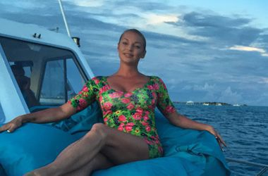 Анастасия Квитко надела прозрачное платье без белья