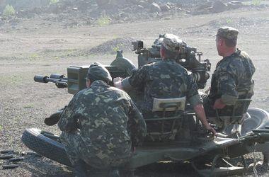 На Донбассе военные испытали новое огневое сооружение