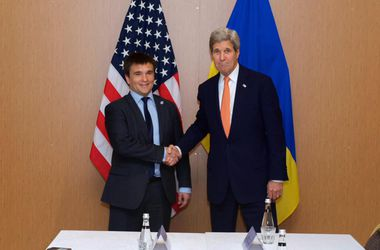 <p>Климкин и Керри. Фото: twitter.com/johnkerry</p>