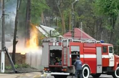 В Ирпене на газораспределительной станции прогремел взрыв