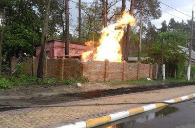 Подробности взрыва в Ирпене: пострадал рабочий, а часть города осталась без газа