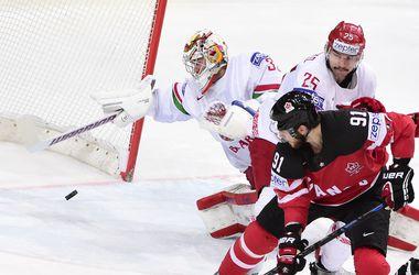 Канада уничтожила Беларусь по пути в полуфинал хоккейного ЧМ