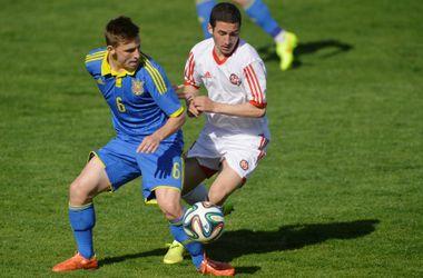 Юношеская сборная Украины стартовала с ничьей в элит раунде отбора на Евро-2015