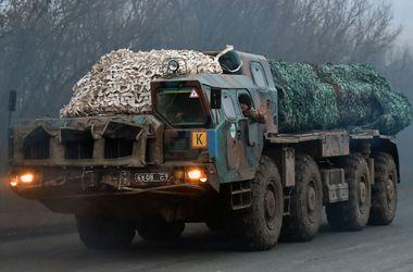 Боевики стягивают к линии разграничения тяжелое вооружение