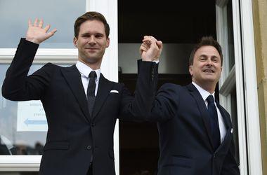 Премьер Люксембурга заключил брак со своим партнером