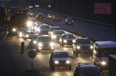 Где в Киеве были самые большие пробки