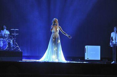 Полину Гагарину обвинили в плагиате за выбор наряда для Евровидения