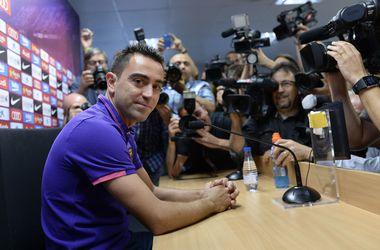 """Хави созвал пресс-конференцию и объявил об уходе из """"Барселоны"""""""