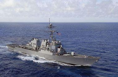 В Черное море зашел эсминец ВМС США Ross