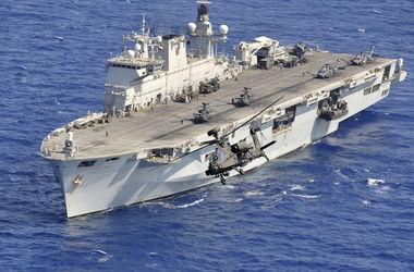 Великобритания выведет в Балтийское море свой самый большой военный корабль