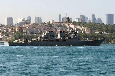 """В Черное море вошел американский эсминец """"Росс"""" для усиления """"безопасности на море"""""""