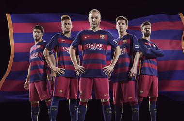 """Впервые в истории на футболках """"Барселоны"""" будут горизонтальные полоски"""