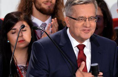 Коморовский признал поражение на президентских выборах