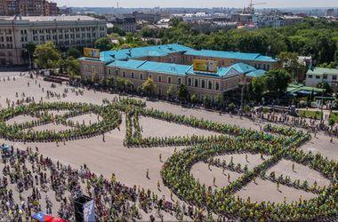 В Харькове велосипедисты установили новый рекорд Украины