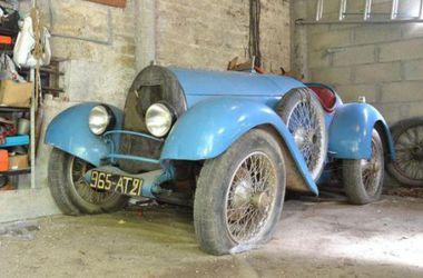 Очень редкий Bugatti Brescia 1925 года уйдет с молотка