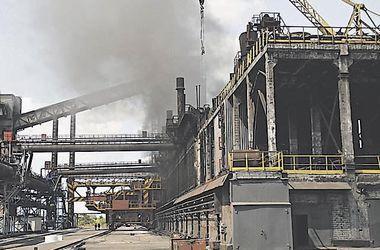 Авдеевский коксохимический завод остановился после минометного обстрела