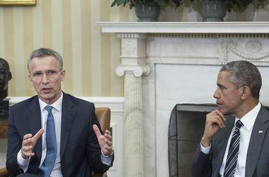 Столтенберг заверил Обаму, что НАТО помогает укреплять оборону Украины