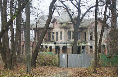 В Киеве обвалилась заброшенная дача Хрущева