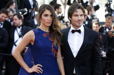 Йен сомерхолдер и его жена свадьба фото
