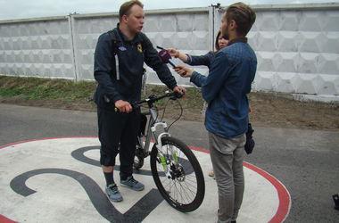 На Трухановом острове в Киеве открыли велодорожку