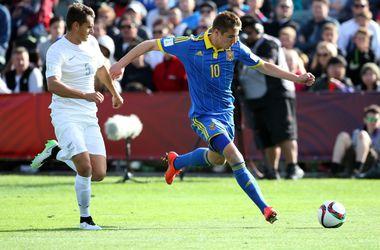 В матче-открытии молодежного чемпионата мира Украина не смогла обыграть Новую Зеландию
