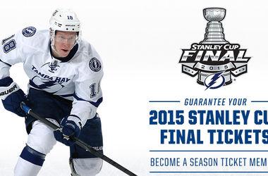 """""""Тампа"""" вышла в финал плей-офф НХЛ"""