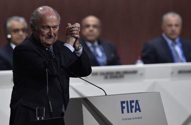 Вице-президент ФИФА покинул свой пост в знак протеста против переизбрания Блаттера