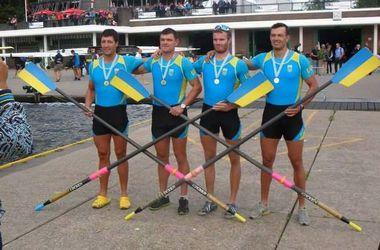 Украинские гребцы выиграли две медали на чемпионате Европы