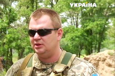 На передовую пошли украинские чиновники