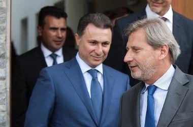 Власть и оппозиция в Македонии договорились о проведении досрочных парламентских выборов