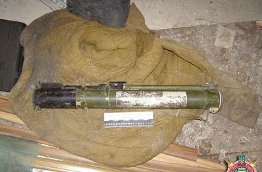 В доме боевика нашли арсенал оружия