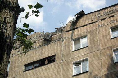 Донецк: список пострадавших от обстрела домов