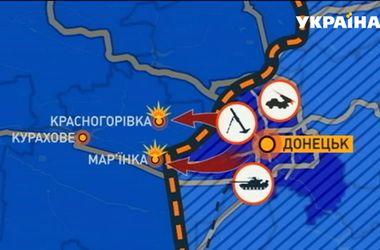 В Марьинку съехались 1000 боевиков и 20 танков - военные
