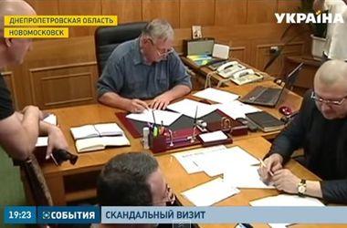 Скандал в Днепропетровской области: как и зачем Корбан ворвался в кабинет главы Новомосковского района