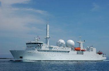 Французский разведывательный корабль вошел в Черное море - СМИ