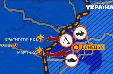 Боевики с утра снова пытались атаковать Марьинку