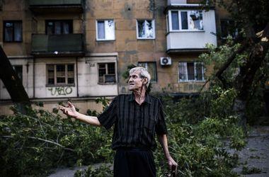 Неспокойная ночь в Донецке: залпы, взрывы и свист снарядов