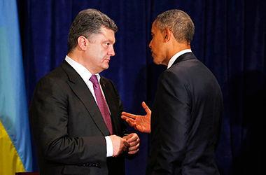 Порошенко и Обама скоординировали позиции накануне саммита G-7