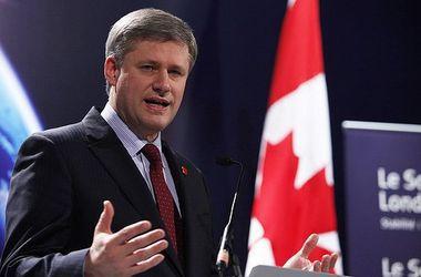 Премьер Канады встретится с Порошенко и Яценюком