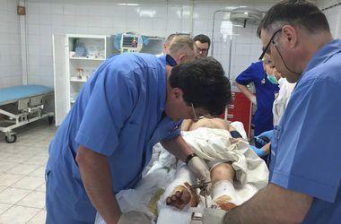 В Днепропетровск за неделю доставили 66 раненых солдат