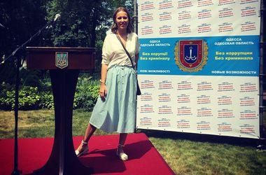 Собчак засекли с Саакашвили в селе под Одессой