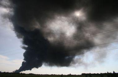 Из-за пожара под Киевом Кличко поручил срочно мыть дороги