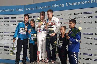 Прыгуны в воду Прокопчук и Кваша завоевали медали чемпионата Европы