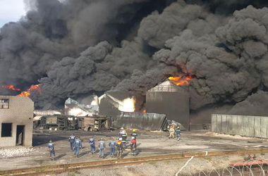 На нефтебазе под Киевом сгорело 14 тыс тонн топлива – это 14 млн долл – Геращенко